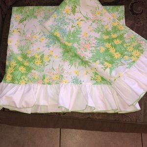 Vintage king size pillow cases